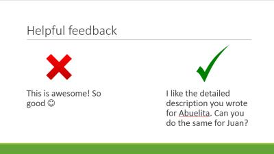 feedback 3